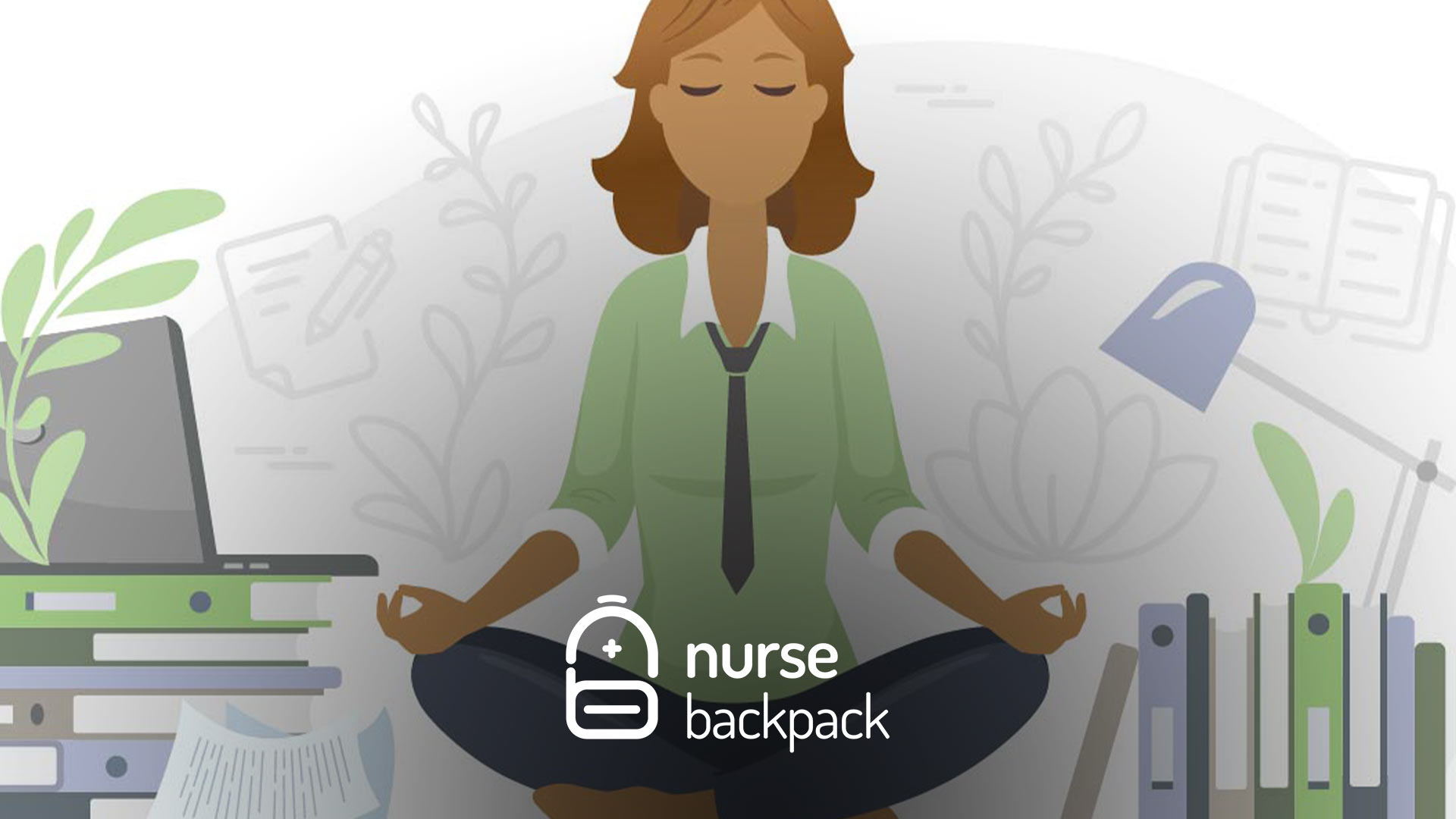 nurse backpack mobile app provides advice to relax to nurses